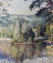 Reflections at Alice Lake